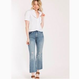 Levi's 517 High Waist Crop Flare Jeans